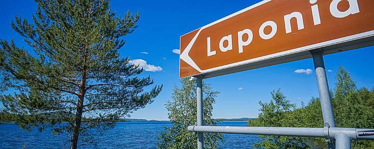 Mietwagenreise durch Lappland