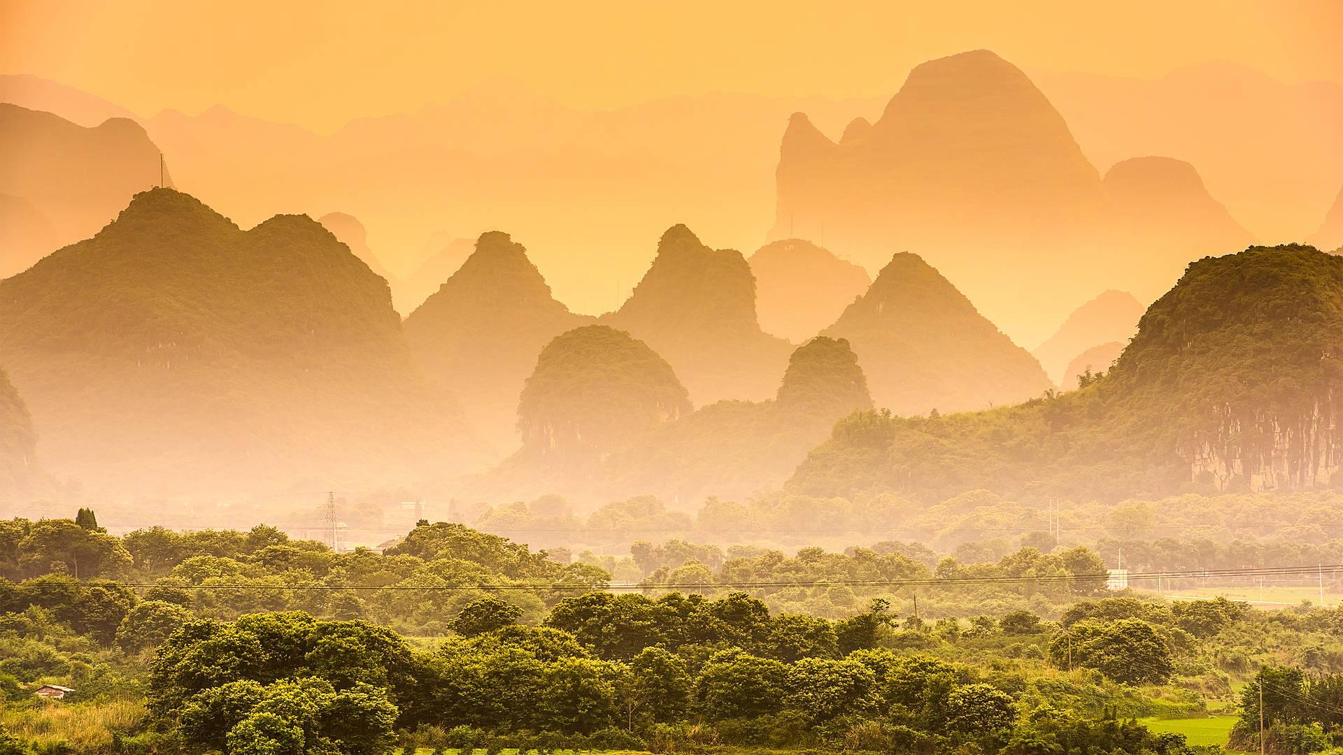 Aktiver Kurztrip ins Umland von Guilin