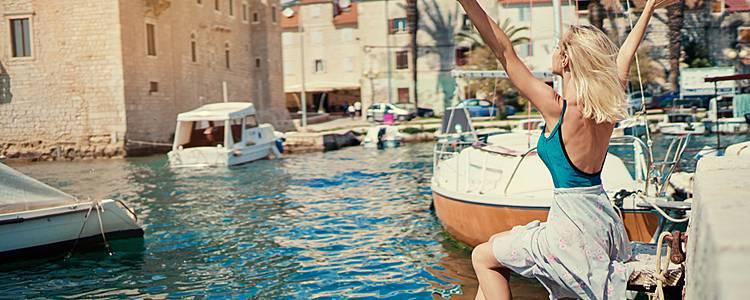 Sueño Adriatico en velero por Dalmacia