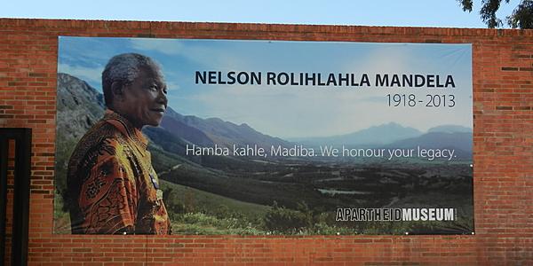 Im Apartheid-Museum