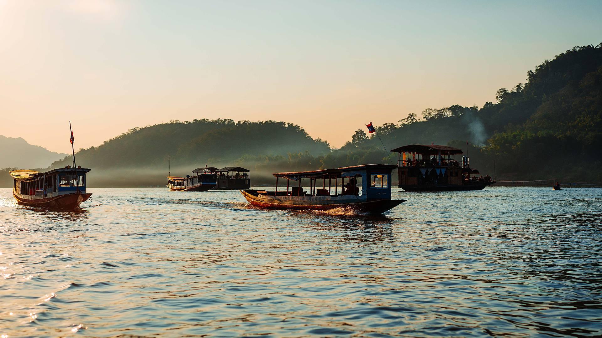 Gibbon Experience e crociera lungo il Mekong