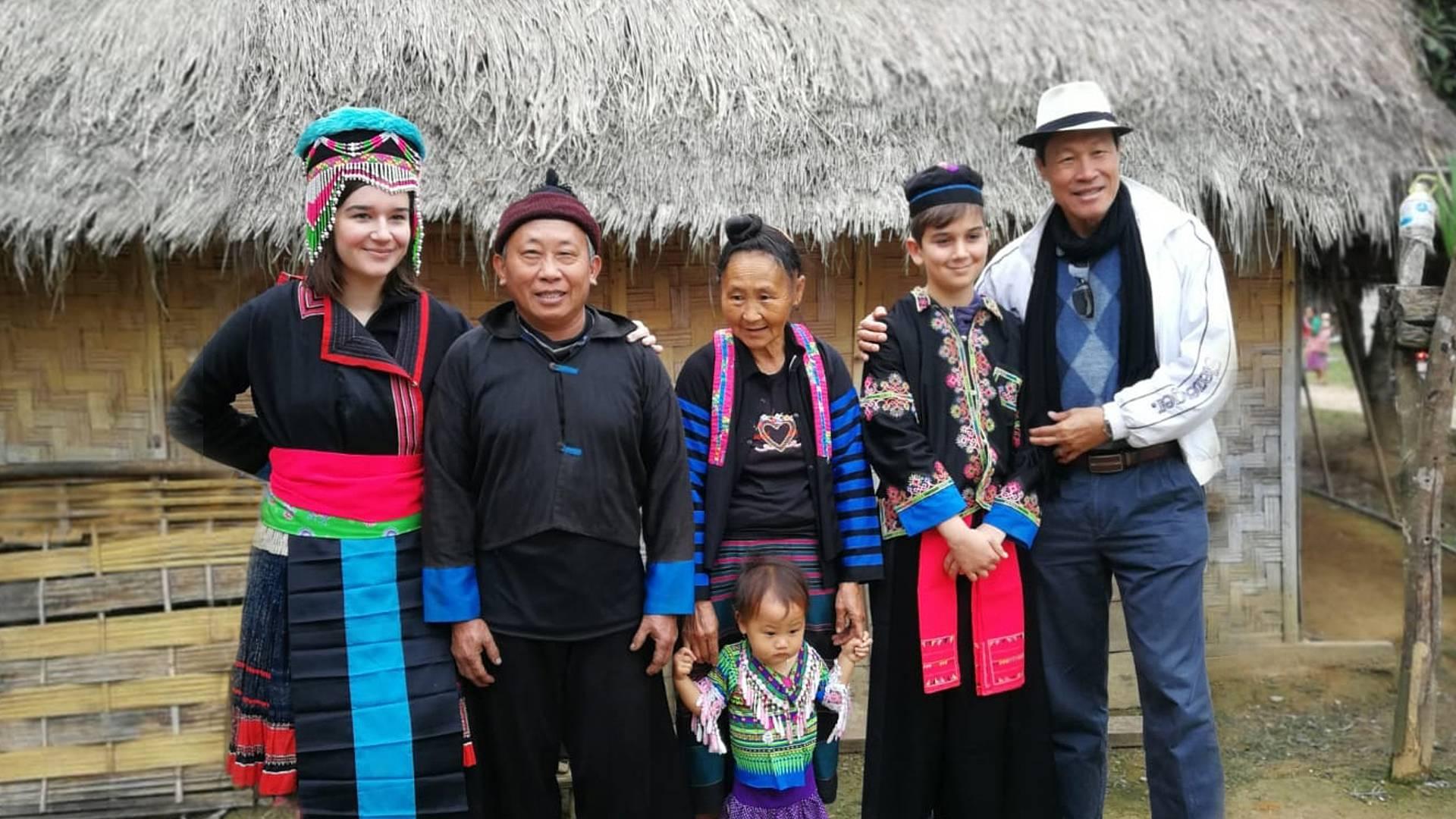 Aventure laotienne en famille