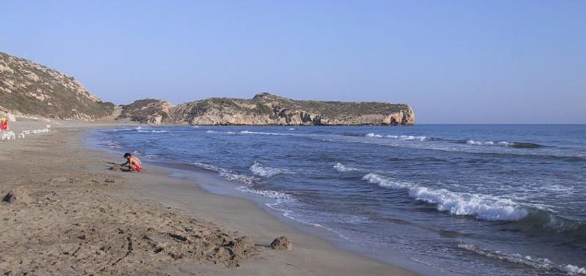 La playa de Patara