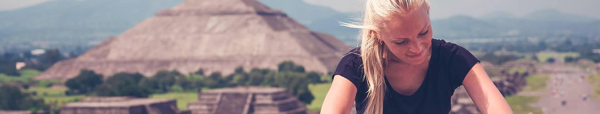 Trekking in Messico