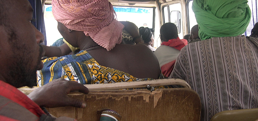 Le Matatu est idéal pour rencontrer la population