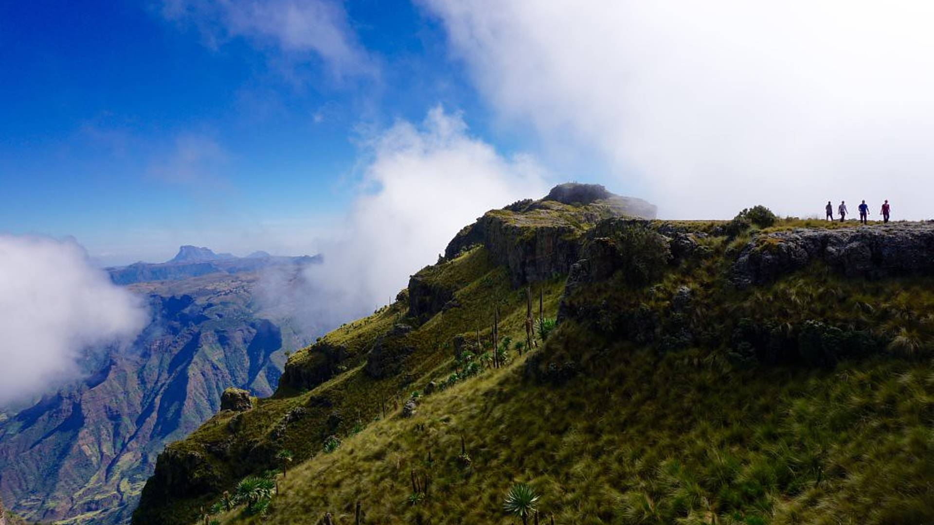 Auf die höchsten Gipfel am Horn von Afrika