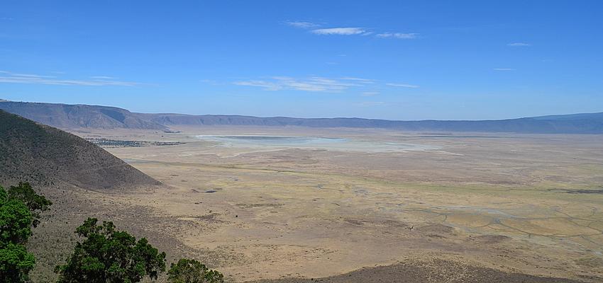 Le cratère du Ngorongoro, autre célébrité Tanzanienne