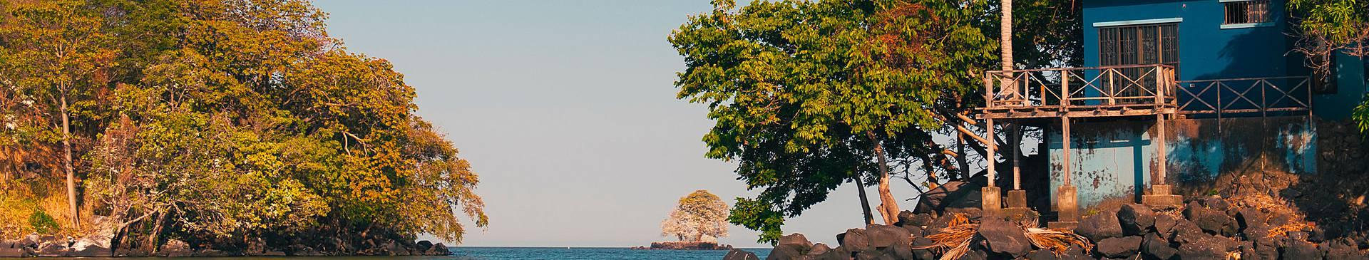 Découverte des îles du Nicaragua