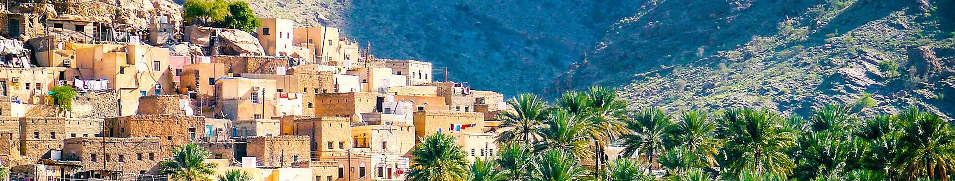 Oman avec un guide