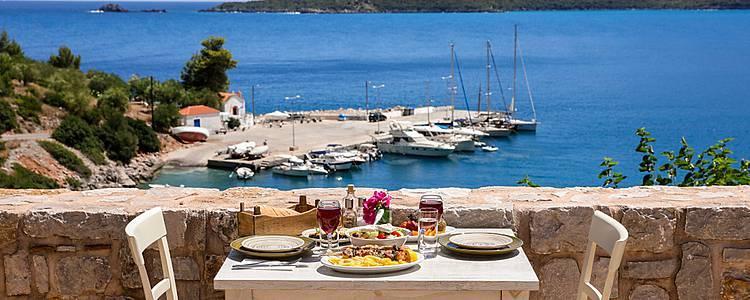 Die kulinarischen Schätze Athens und der Insel Andros