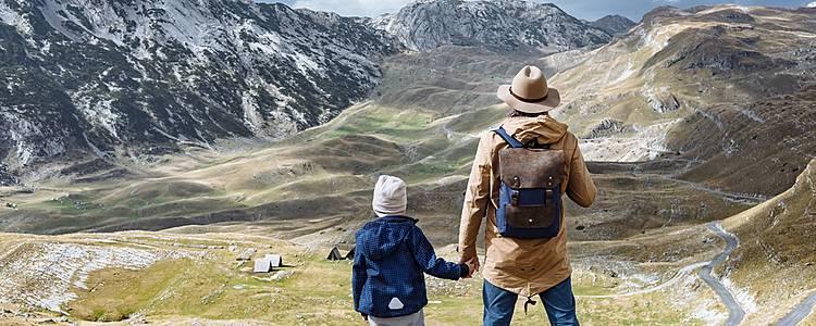 Entre montagnes et mer en famille