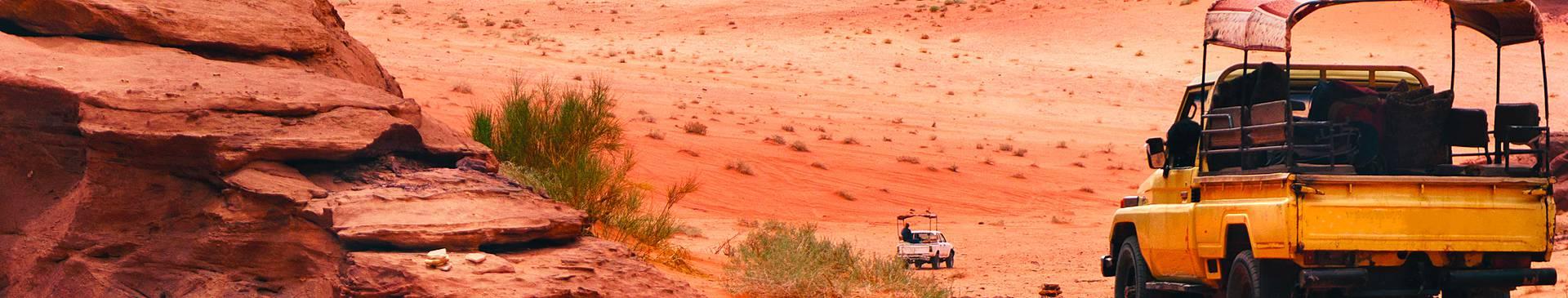 Rutas en coche por Jordania