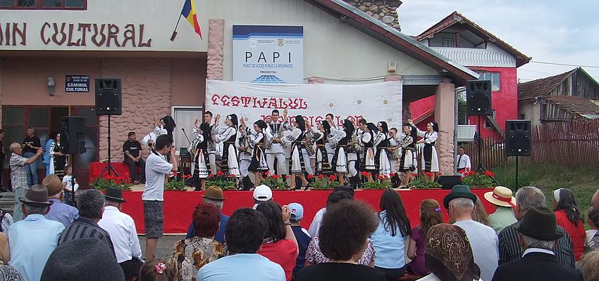 Festival de los Narcisos en Sălașu de Sus