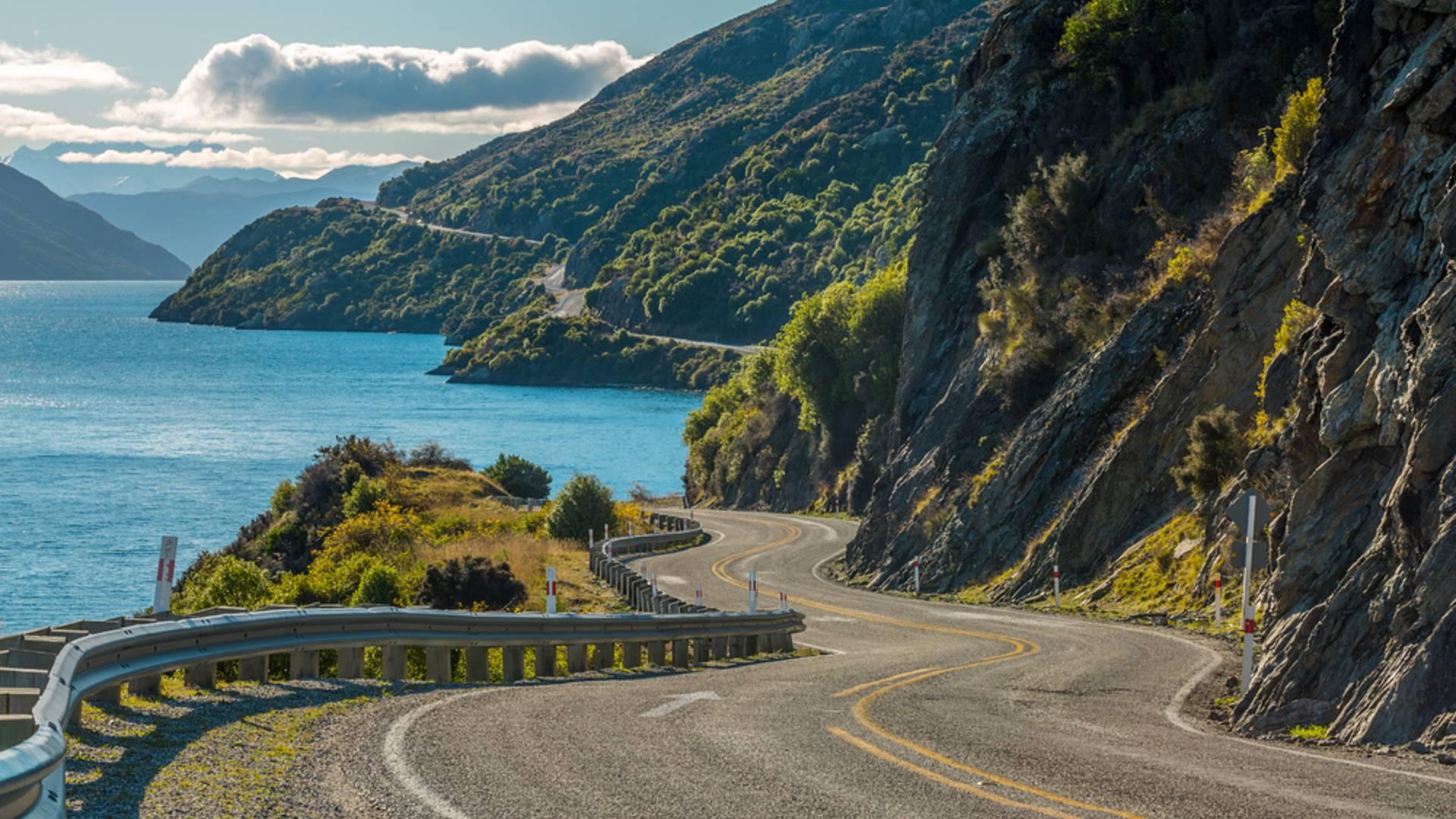 Selbstfahrertour von Auckland nach Christchurch