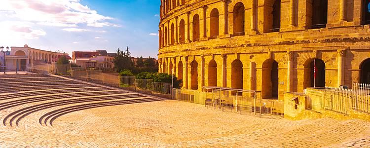 Viaje en la historia romana de Túnez