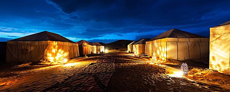 Escapada en el desierto y noche en haima