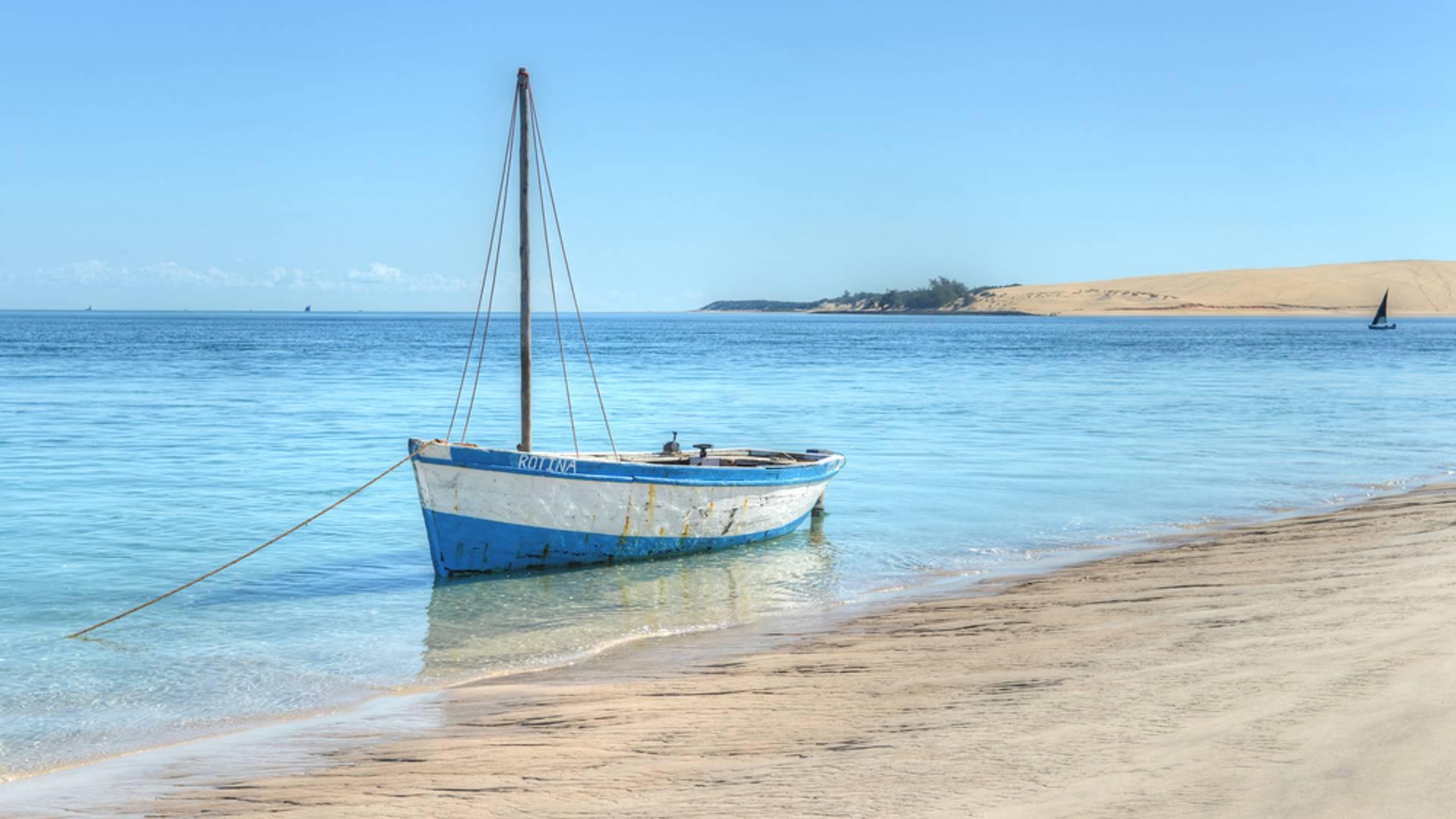 Strand und Busch in Südafrika und Mosambik