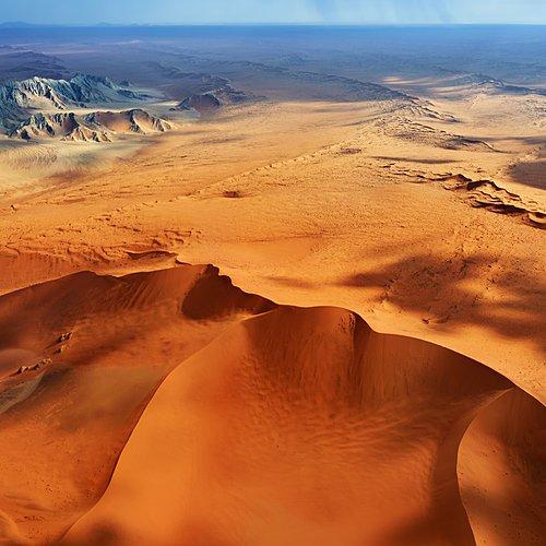 Les fabuleux déserts namibiens en avion-taxi - Windhoek -