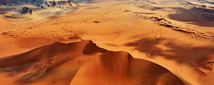 Les fabuleux déserts namibiens en avion-taxi