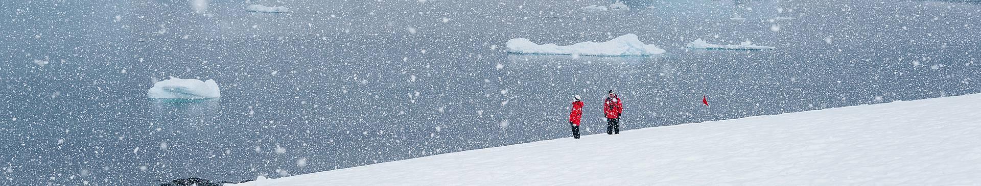 Voyage de noces en Antarctique