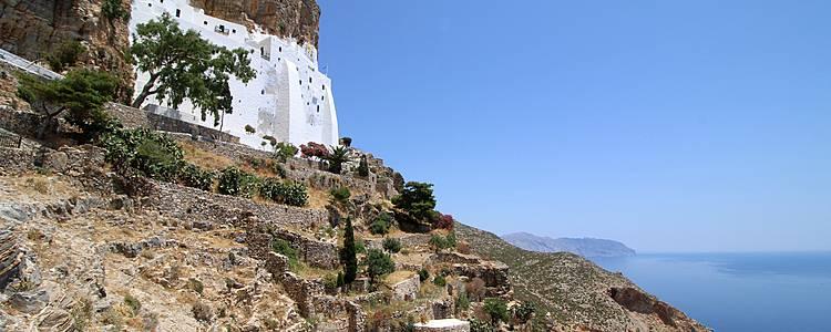 Santorin/Amorgos : Sur les traces du Grand Bleu
