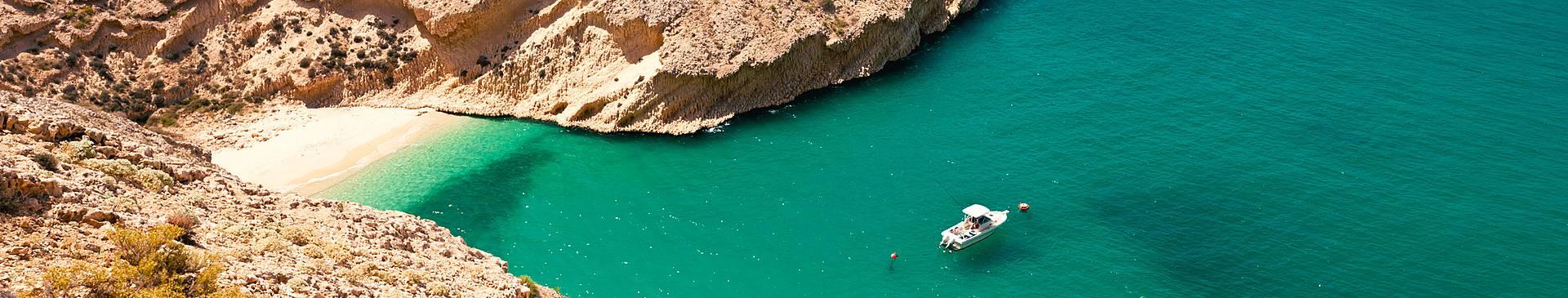 Strand und Meer Oman Reisen