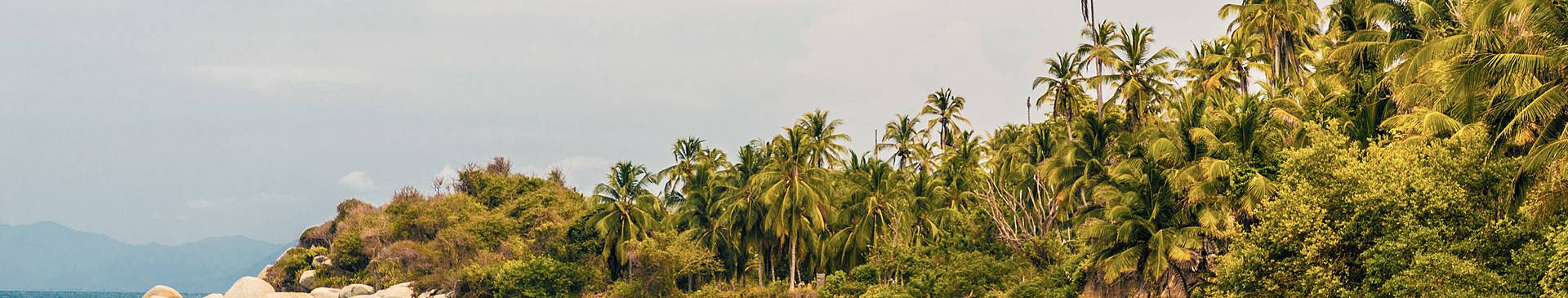 Strand und Meer Kolumbien Reisen