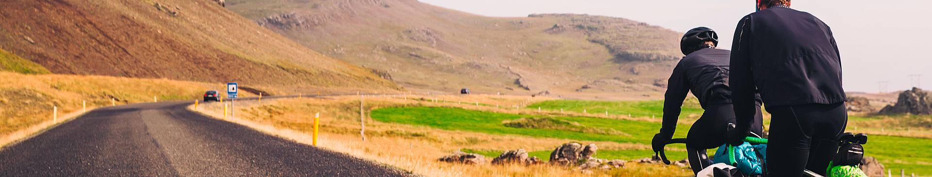 Biking in Iceland