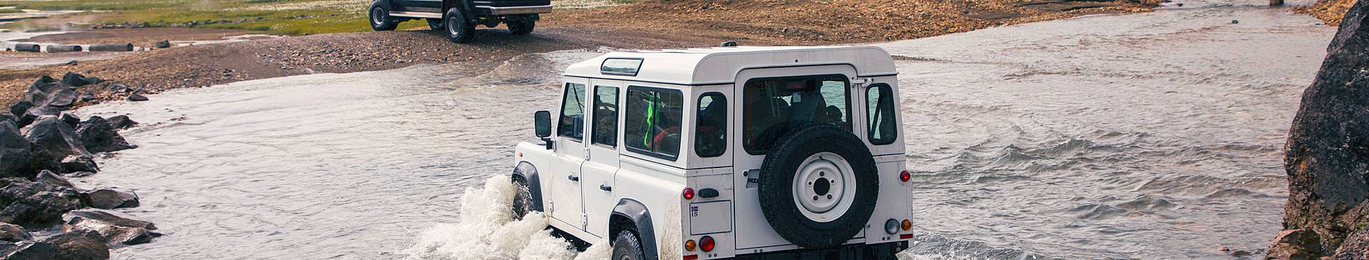 Iceland jeep tours