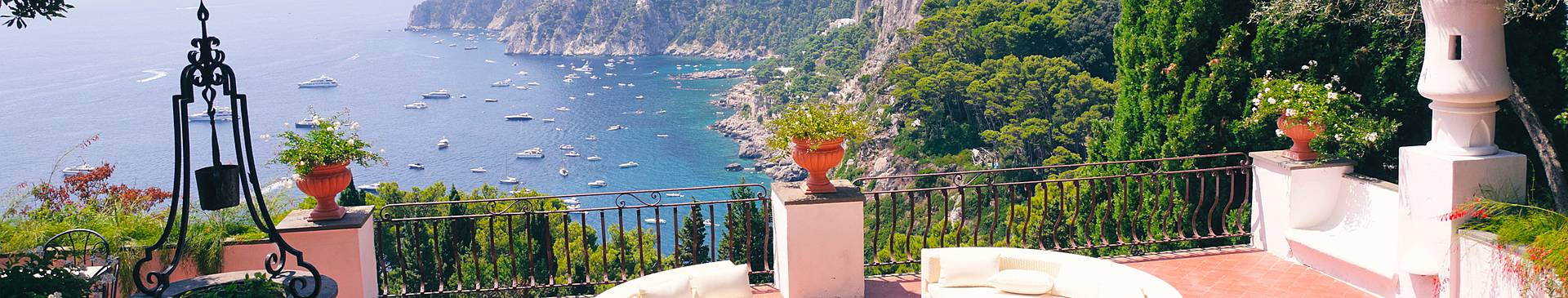 Luxury vacations in Italy