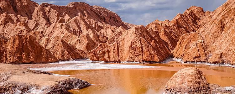 Désert d'Atacama, geysers et île de pâques