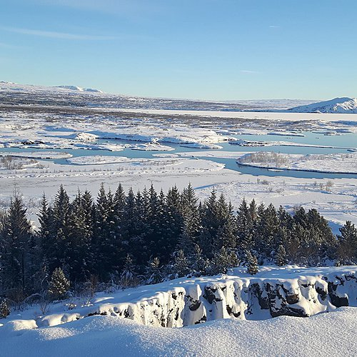Merveilles hivernales de la Terre de Glace en petit groupe - Reykjavik -