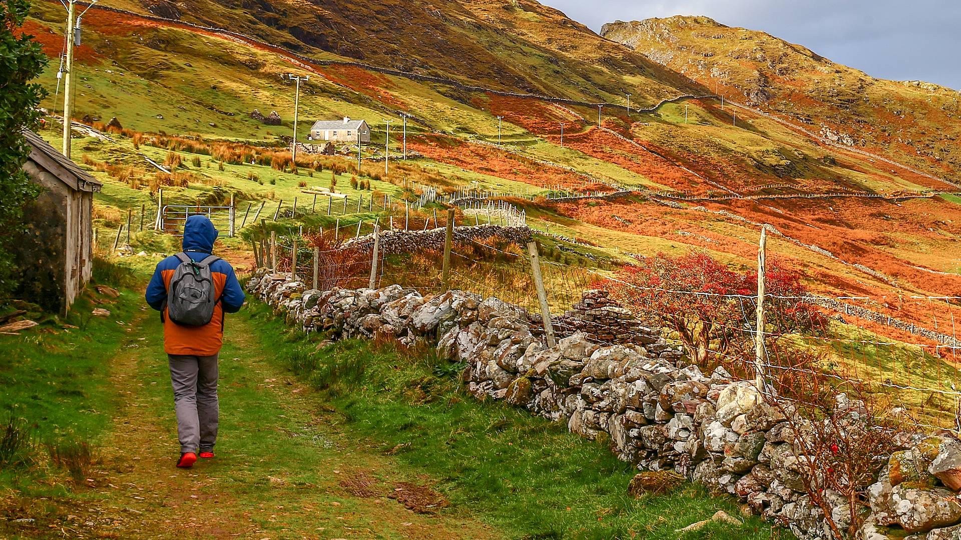Authentischer Wanderurlaub in Connemara
