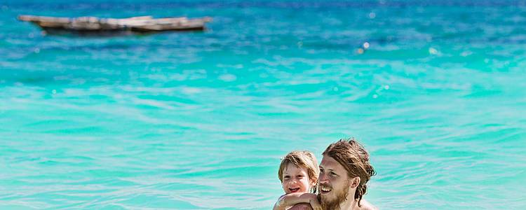 Safari e Isla Zanzibar en familia