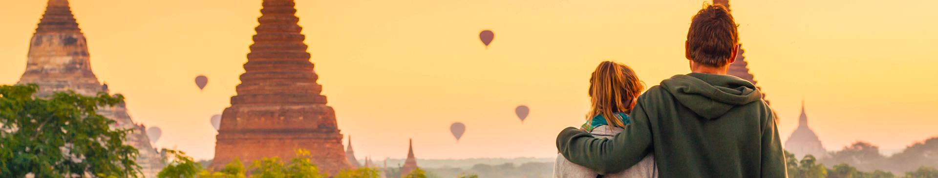 Flitterwochen Myanmar