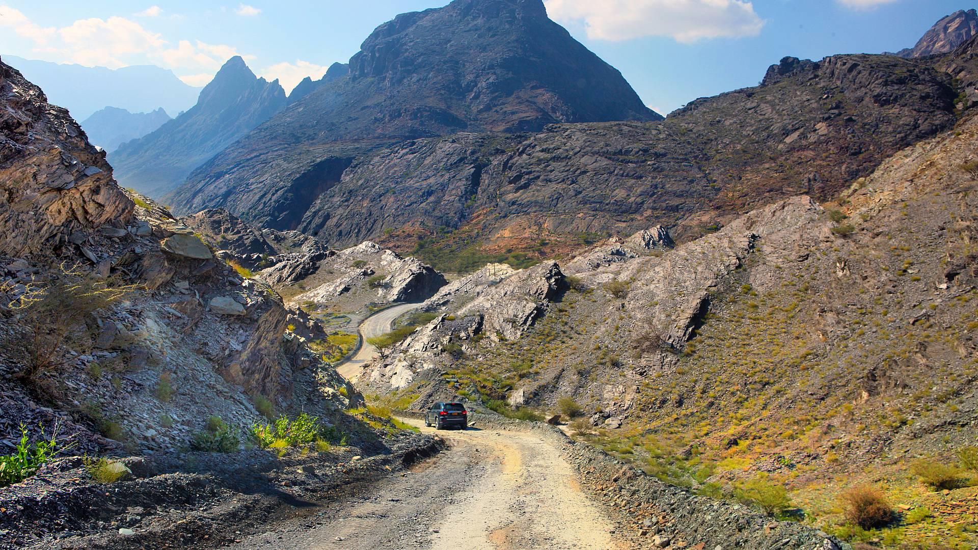 Durch Muscat und Wadis: auf vier Rädern durch den Nordoman