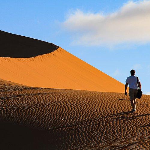Noces royales au coeur des dunes - Windhoek -