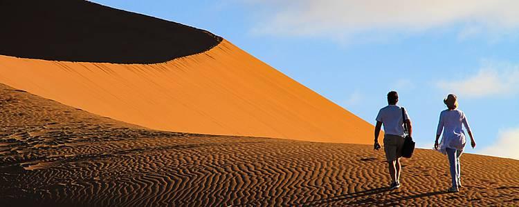 Noces royales au coeur des dunes