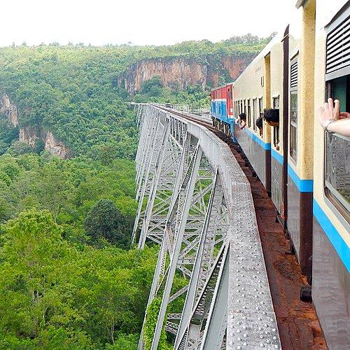 Sur les rails, de la Thaïlande à la Birmanie - Bangkok -