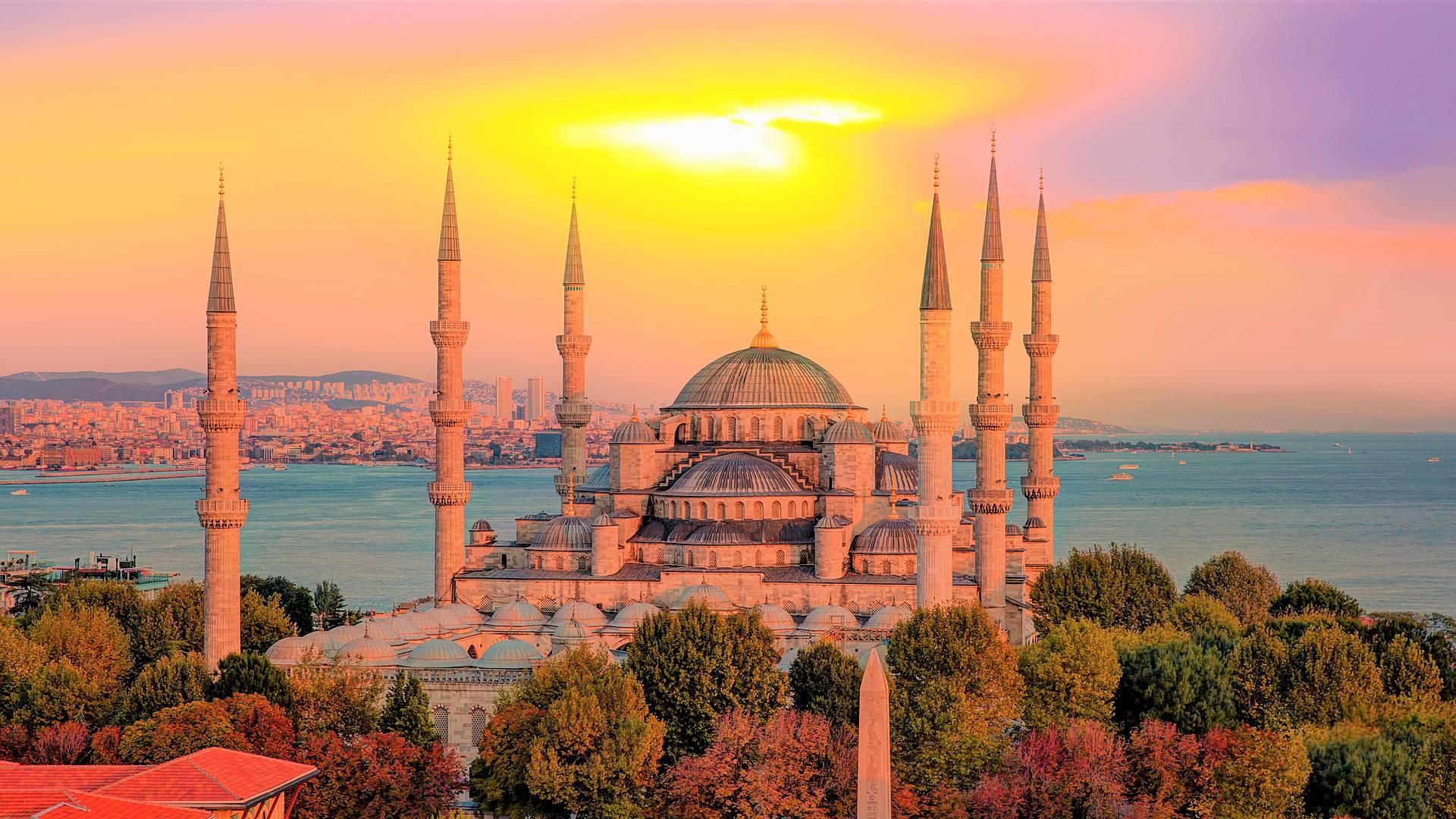 Mezquitas y palacios por Estambul