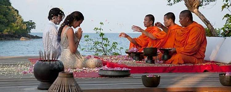 Honeymoon dream in Cambodia