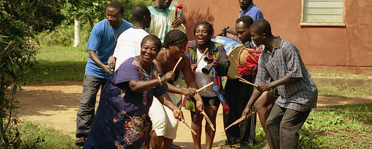 Im Rhythmus Afrikas