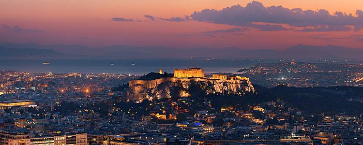 Clash of classical and modern Greece