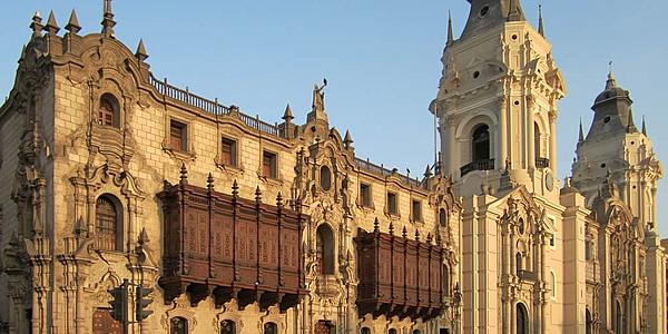 La cathédrale de Lima