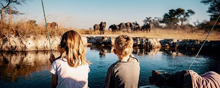Familienreise in Kombination mit Botswana