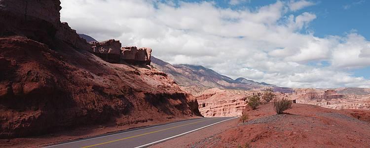 La Ruta 40 tra Argentina e Cile, circuito Nord