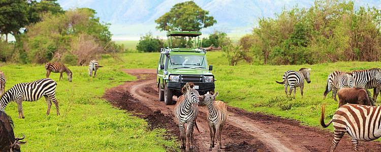 Safari activo y Aventura entre Tribus