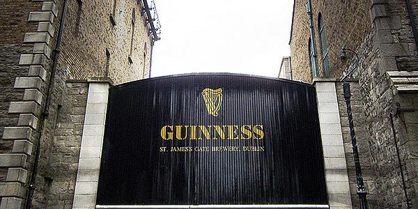 La brasserie Guinness