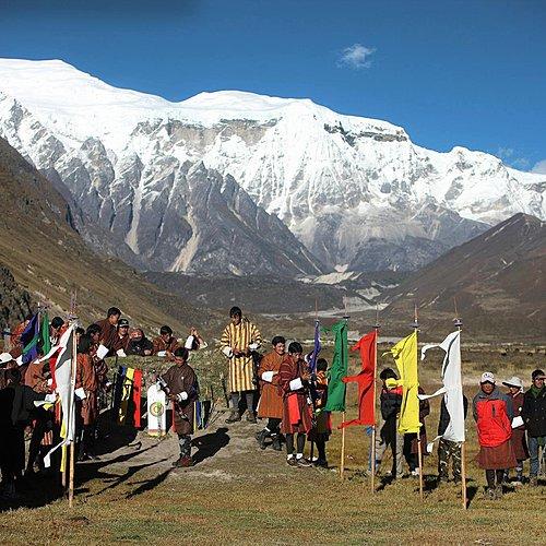 Trek au coeur des mille lacs de Dagala - Paro -