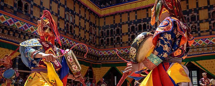 Nepal e Bhutan: il Festival spirituale del Tshechu di Paro